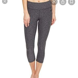 Gray North Face Motivation Cropped Leggings